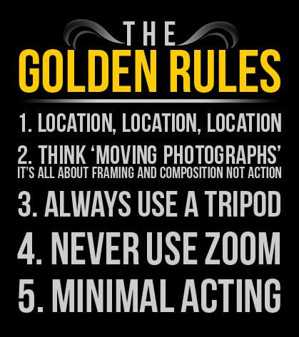 golden rules of producing films
