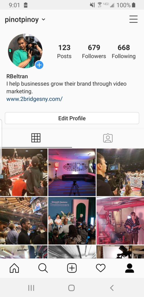 video marketing on Instagram